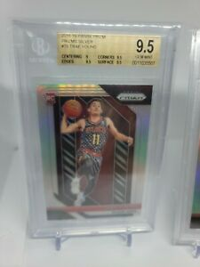 2019 Panini Prizm Trae Young Refractor Silver RC Rookie Bgs 9.5 crossover?