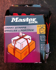 Master Lock 2 Person Carry Straps 40 kg Max