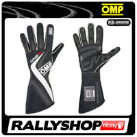 FIA OMP One-S RACE one s Karthandschuh Handschuhe Professionell Schwarz