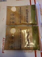 2x ALLEREASE Naturals Organic Cotton Pillow Encasement K/S/Q