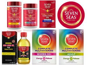 Seven Seas Omega-3 Fish Cod Liver Oil Plus Multivitamins Complex - FAST DISPATCH