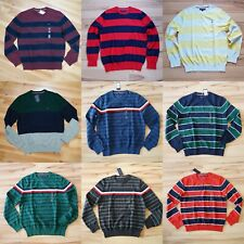 NWT Men's Tommy Hilfiger Pullover Sweater Most Sizes  Sizes XS - 3XL