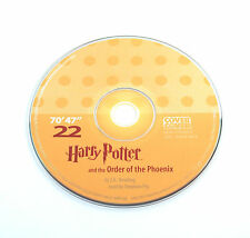Harry Potter Order Phoenix Stephen Fry Audio Book CD SPARE DISC: TWENTY-TWO 22