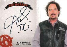 Sons of Anarchy Seasons 4&5, Kim Coates 'Alex Tig Trager' Auto Card KC
