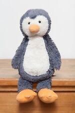 Jellycat Bashful Penguin - Medium (Dark Grey / Silver)