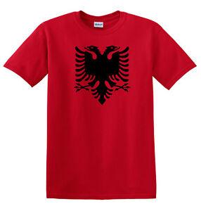 Kids Albania T Shirt - Children's Boys or girls Albanian tee