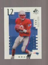 2000 Upper Deck SP Authentic #118 Tom Brady rookie REPRINT, New England Patriots