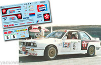 C136 Decal 1:43 Jose Maria Ponce - BMW M3 - Rally El Corte Ingles 1988