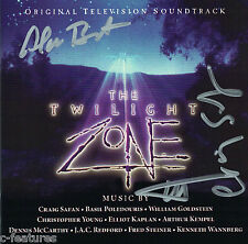 TWILIGHT ZONE (1985) 3-CD Intrada EXPANDED Score 3x SIGNED BY SAFAN + McCARTHY!