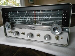 HALLICRAFTERS  S-107 shortwave 5 band tube receiver