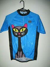Monton Bike Cycling Short Sleeve Jersey Women's Large L - Full Zip - Cat