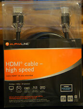 Alphaline HDMI 12ft cable 17.8 Gbps 10902
