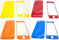 Iphone 5/5s Front & Back Coloured Stickers Wrap Skin Cover Screen Protected
