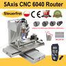 5Axis CNC 6040 Router Fräsmaschine USB Port Graviermaschine Fräse High Precision