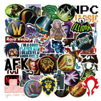 World of Warcraft Stickers - Pack of 50