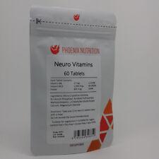 Neuro Vitamins | 60 Tablets | Methyl Folate, P-5-P & Methylcobalamin (B6 & B12)