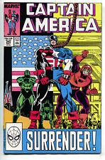 Captain America 345 Marvel 1988 NM USA Flag Falcon Nomad D-Man Diamondback