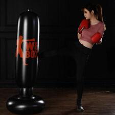 Adult Free Standing Punching Bag Boxing Cardio Kickboxing Fitness Training