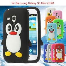 Samsung Galaxy S3 SIII Mini i8190 Pingüino Bonito Silicona Suave
