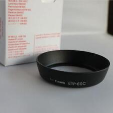 Cam Camera Black Lens Hood Tool for Canon EOS 700D 650D 600D 500D 550D EW-60C