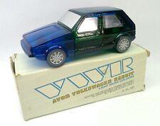 Vintage 1980 Avon Volkswagon Rabbit Light Musk Cologne Bottle & Box - Unused