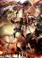 Hot Anime Attack on Titan Levi Poster