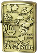 ZIPPO Lighter Sweet Fruits Antique design by Japan Best Buy Gift F/S
