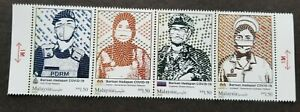 Malaysia Frontliners 2021 Fight Virus Front Line Hero Doctor (stamp MNH *unusual