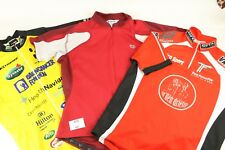 "3 x 40"" Chest Cycling Jerseys Vintage Short Sleeve Shirts Pre-owned (488)"
