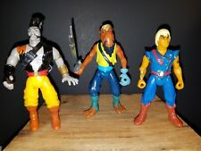1990 THE PIRATES OF DARK WATER LOT ACTION FIGURES VINTAGE HASBRO