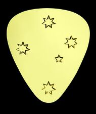 AUSSIE SOUTHERN CROSS -Solid Brass Guitar Pick,Acoustic,Electric,Mandolin,Bass
