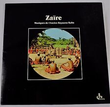 *-Vinyl-Schallplatte- ZAIRE - Musiques de l'ANEIEN Royaume KUBA