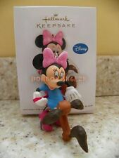 Hallmark 2012 Tangled Up in Fun Minnie Mouse Disney Christmas Ornament