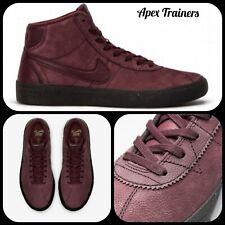 Nike Sb Bruin Hi Premium Trainers Sneakers Boots Burgundy UK 8.5 EUR 43