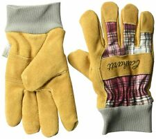 Carhartt Women's  Suede Work Glove with Knit Cuff. WA696. NEW.  MEDIUM.