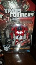 Transformers Fall of Cybertron Shockwave Kickback Sideswipe Jazz Soundwave