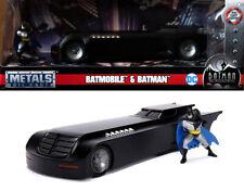 Batmobile & Batman Figur The Animated Series Figure 1:24 Jada Toys 30916