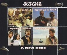 STAR WARS A NEW HOPE REPUBLIQUE DU TCHAD 2015 MNH STAMP SHEETLET