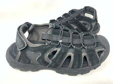 NEW! Skechers Men's RELAXED FIT CONIFER SELMO Sport Sandals Black #64641 185H z