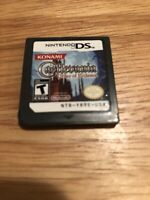 Castlevania: Order of Ecclesia (Nintendo DS) -- Authentic game cart only Tested