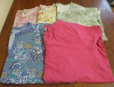 Women's Plus Size 3X 26/28 Clothing Lot Of 5 SHIRTS~Liz & Me~ EUC