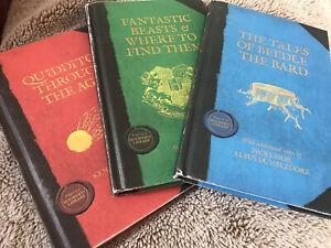 Hogwarts Library Set Fantastic Beasts, Beedle Bard, Quidditch, Harry Potter