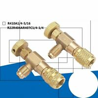 R410/R22 Refrigeration Charging Valve Adapter Air Conditioning Safety Valve Kit