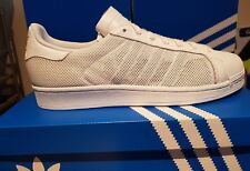 ADIDAS SUPERSTAR TRIPLE White Mens Trainers BB0993