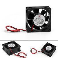 1x DC Brushless Ventilateur de Refroidissement 24V 0.15A 6025S 60x60x25mm 2 Pin