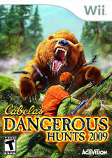 Cabela''s Dangerous Hunts 2009 WII New Nintendo Wii