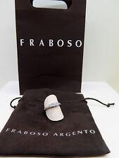 ANELLO FEDINA TRILOGY IN ARGENTO 925 E ZIRCONI FRABOSO ARGENTO