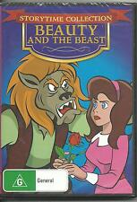 BEAUTY AND THE BEAST - STORYTIME COLLECTION - DVD - NEW -