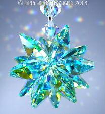 m/w Swarovski Crystal Rare Exclusive Ab Aqua SunCatcher Star Lilli Heart Designs