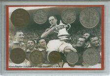 Manchester united man utd vintage f.a cup final gagnants rétro pièce ensemble cadeau 1948